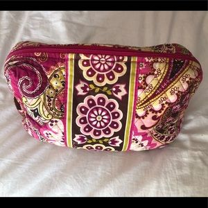 Large Vera Bradley cosmetic pouch